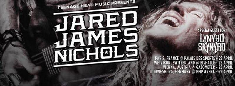 Jared James Nichols nuevo álbum, gira española y europea 2015 abriendo para Lynyrd Skynyrd.jpg