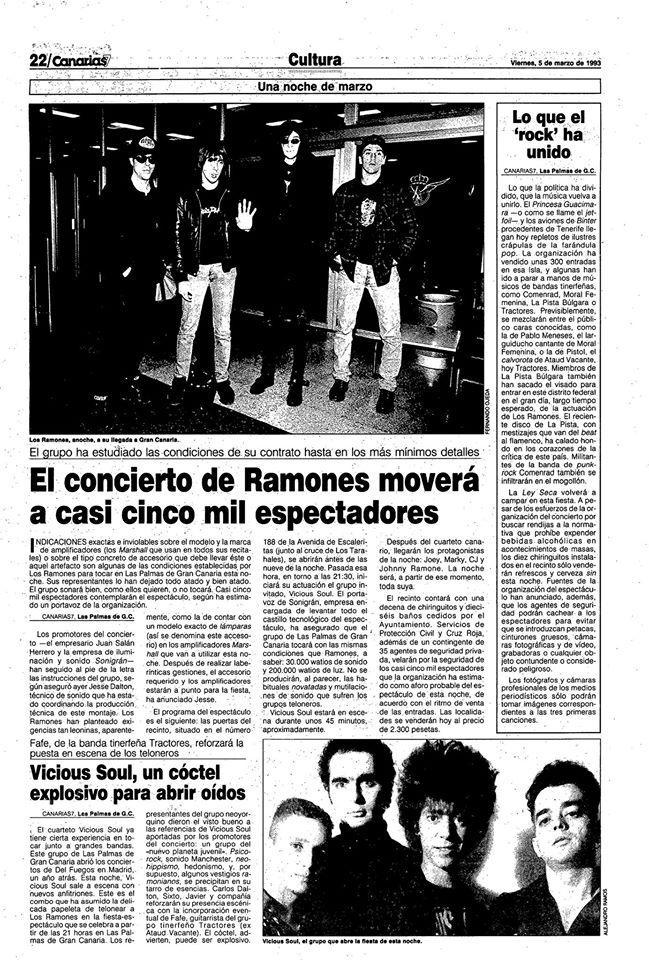 Ramones 5 de marzo de 1993 en Los Tarahales Las Palmas España.jpg