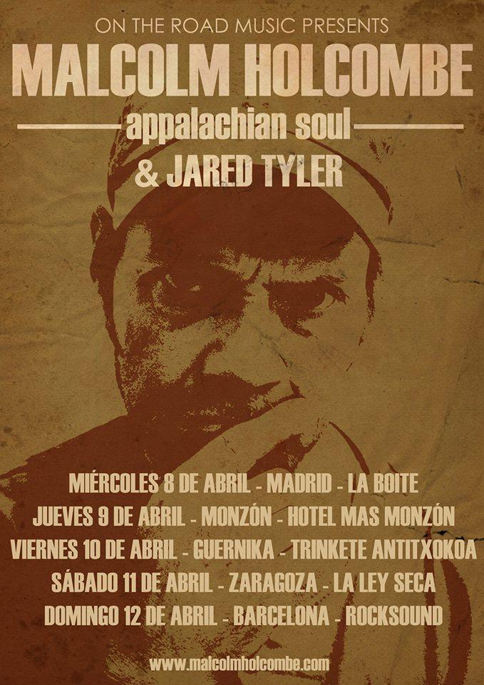 Malcolm Holcombe anuncia gira española 2015 con Jared Tayler.jpg