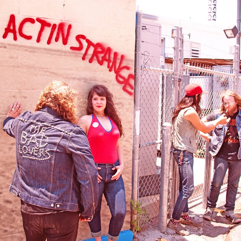 The bad Lovers entrevista Actin' Strange interview.jpg
