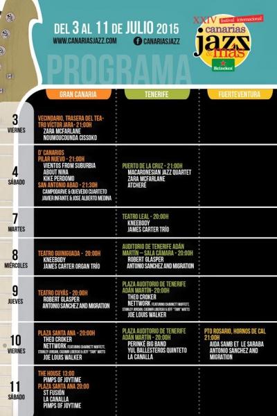 Festival Internacional Canarias Jazz & más 2015