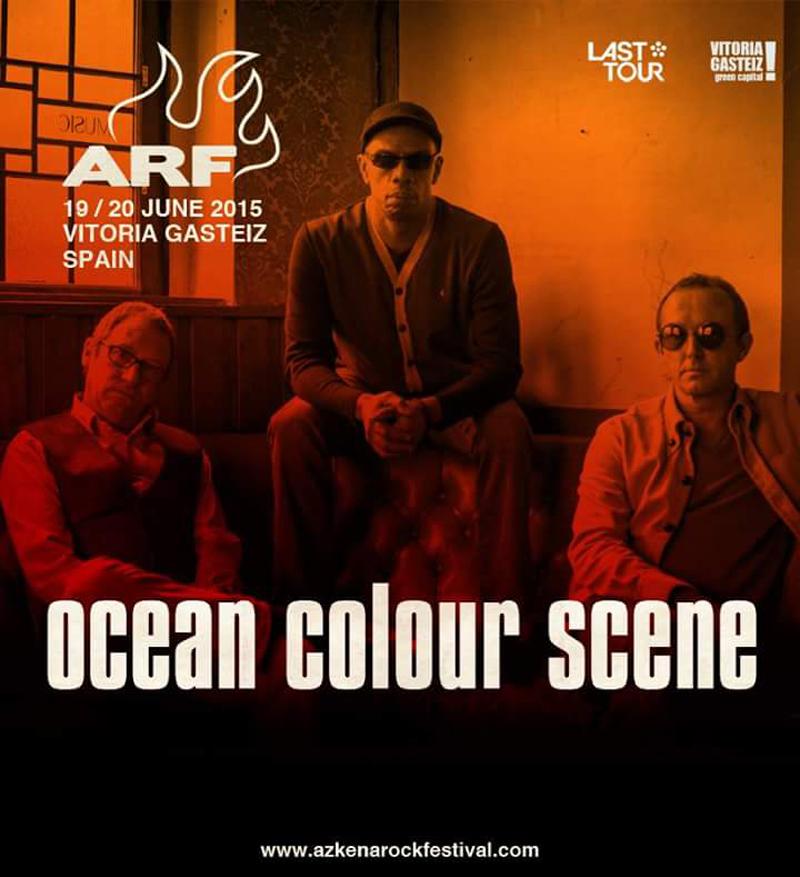 Ocean Colour Scene al Azkena Rock Festival 2015