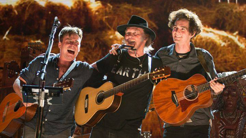 Neil Young and Promise of the Real The Monsanto Years 2015