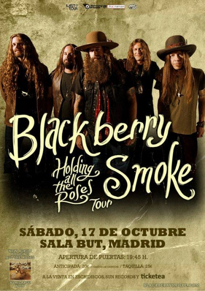 Blackberry Smoke en Madrid 2015