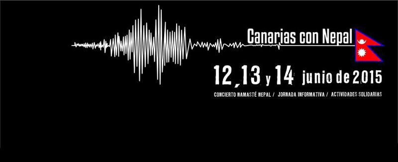 Canarias por Nepal Concierto Namaste Nepal 2015