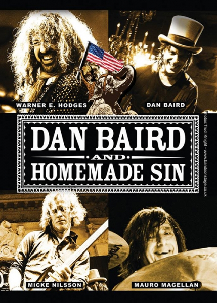 Dan Barid and Homemade Sin gira española en octubre 2015