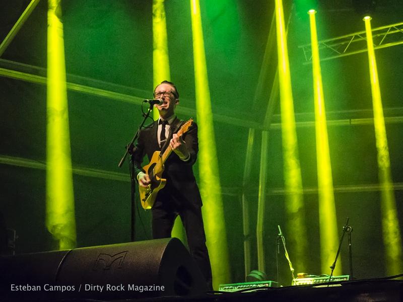 John Paul Keith en el Azkena Rock Festival 2015
