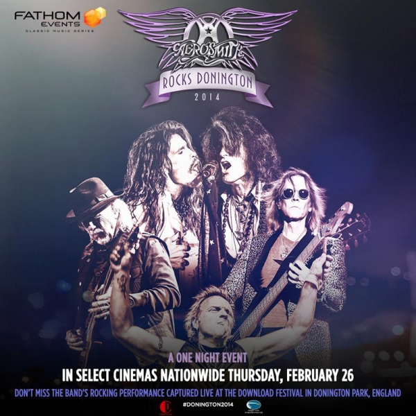 Aerosmith Rocks Donington nuevo DVD de Aerosmith
