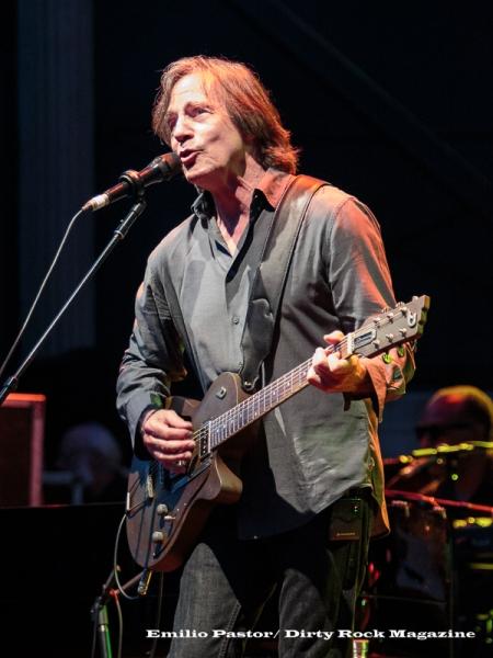 Jackson Browne durante su concierto en San Javier
