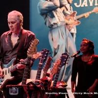 Jackson Browne durante su concierto en San Javier banda