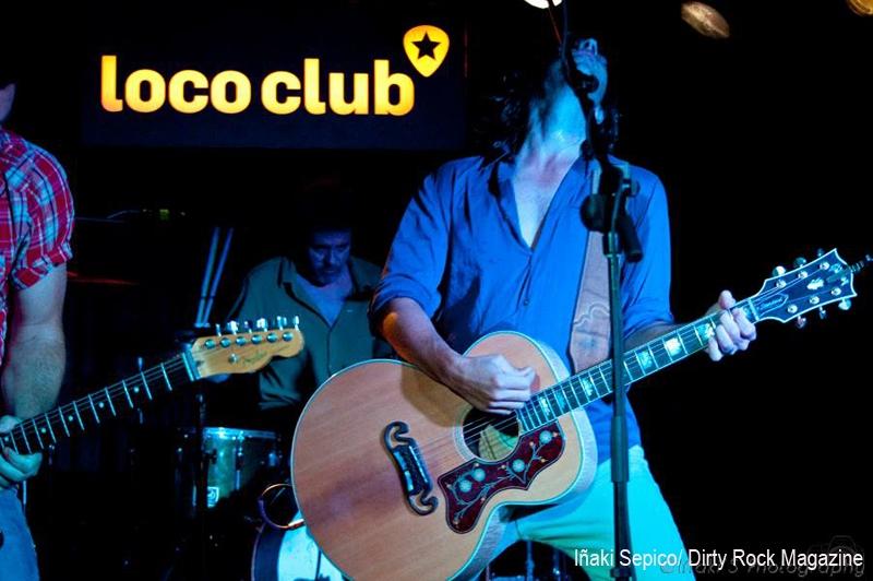 Old 97\'s en el Loco Club
