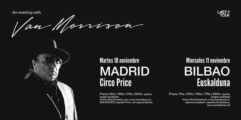 Van Morrison en España, An evening with Van Morrison 2015