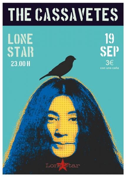 The Cassavetes Blood Love Soul concierto en el Lone Star Tenerife