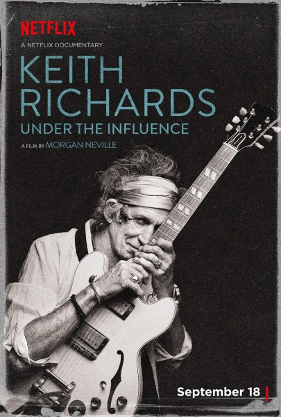 Keith Richards Under the Influence, nuevo documental en septiembre