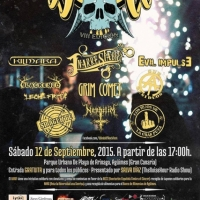 Winds of Rock Fest (WORF) Gran Canaria 2015