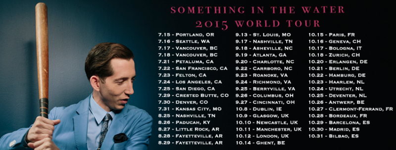 Pokey Lafarge gira en Madrid, Barcelona y Bilbao para presentar Something in the Water