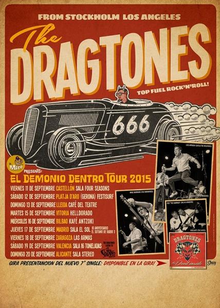 The Dragtones presentan nuevo EP Ding Dong! en una gira española 2015