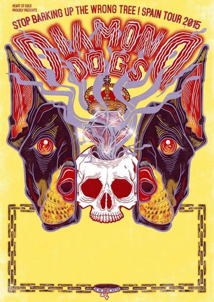 Diamond Dogs gira española y entrevista
