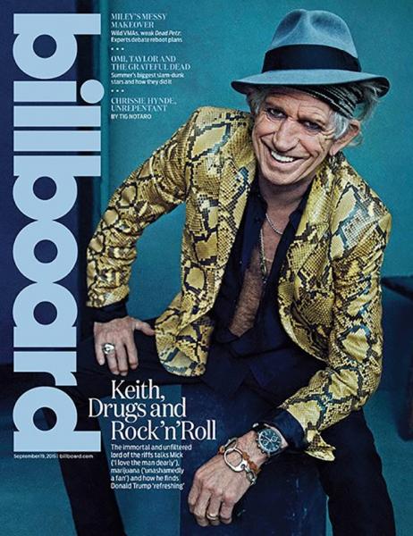 Keith Richards afirma que Grateful Dead fueron una aburrida mierda y que Donald Trump podría ser el peor sueño