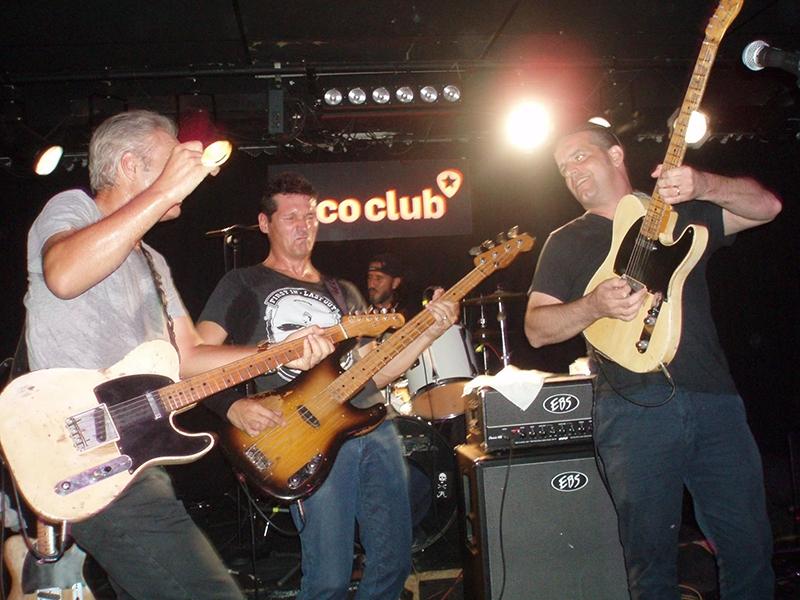 Tres Hombres en concierto junto a Chris Scianni Loco Club Valencia