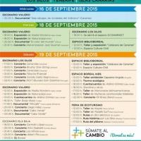 Horarios Festival Boreal 2015
