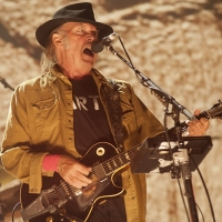 Neil Young en el Farm Aid 2015