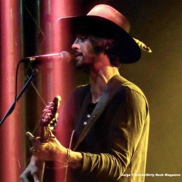 Ryan Bingham durante su concierto en Madrid