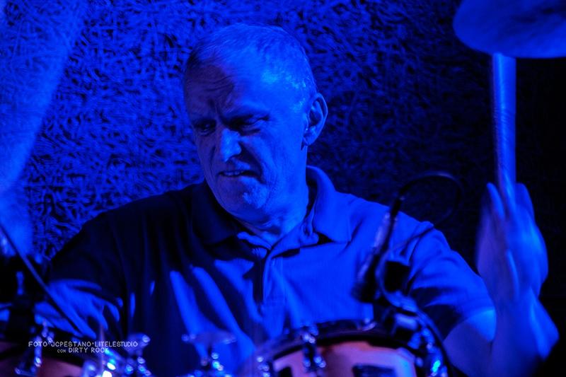 Entrevista al batería Terry Chimes de The Crunch en su gira española