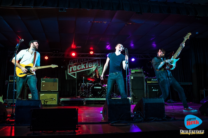 Albany Down en el Calella Rockfest 2015.1