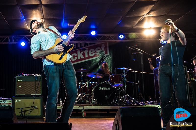 Albany Down en el Calella Rockfest 2015.10