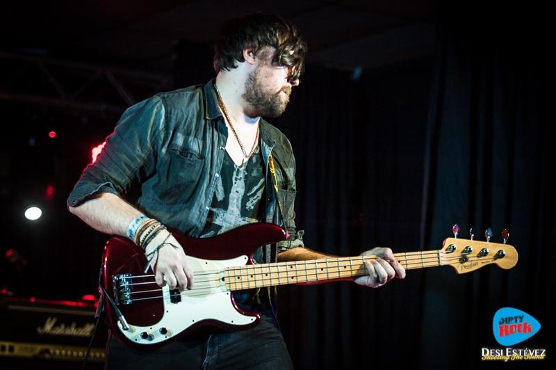 Albany Down en el Calella Rockfest 2015.4