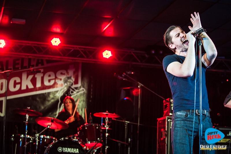 Albany Down en el Calella Rockfest 2015.7