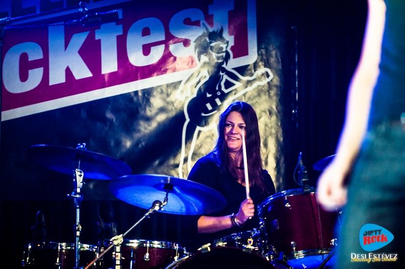 Albany Down en el Calella Rockfest 2015.8
