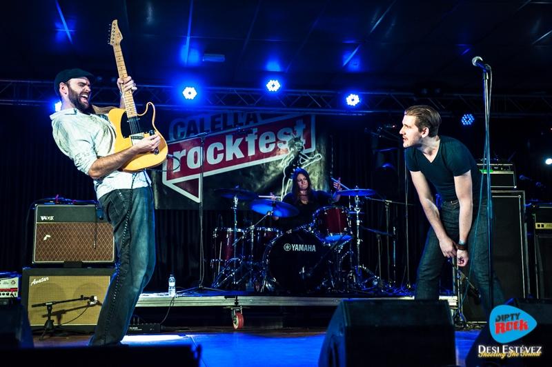 Albany Down en el Calella Rockfest 2015.9