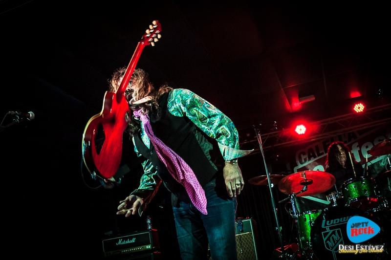 Dan Baird and The Homemade Sin en el Calella Rockfest 2015