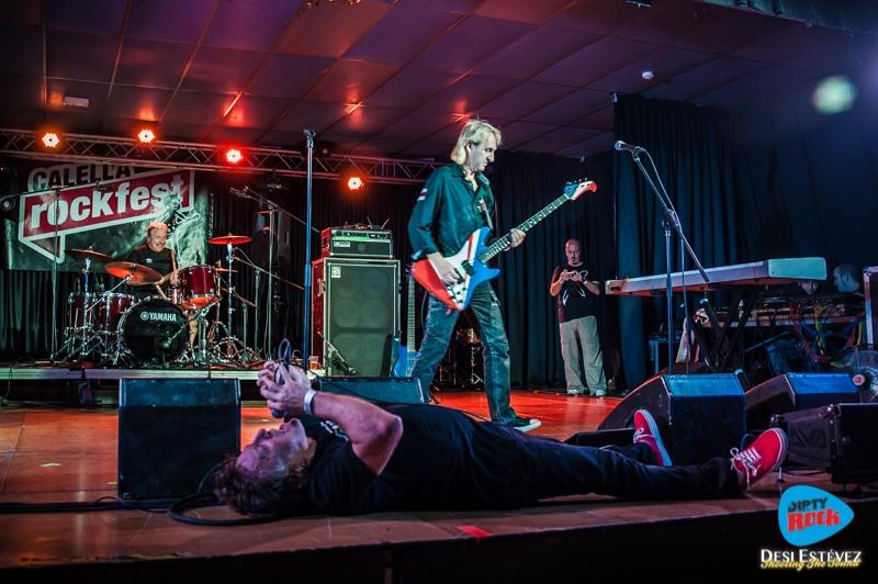 Hosue of X en el Calella Rockfest 2015