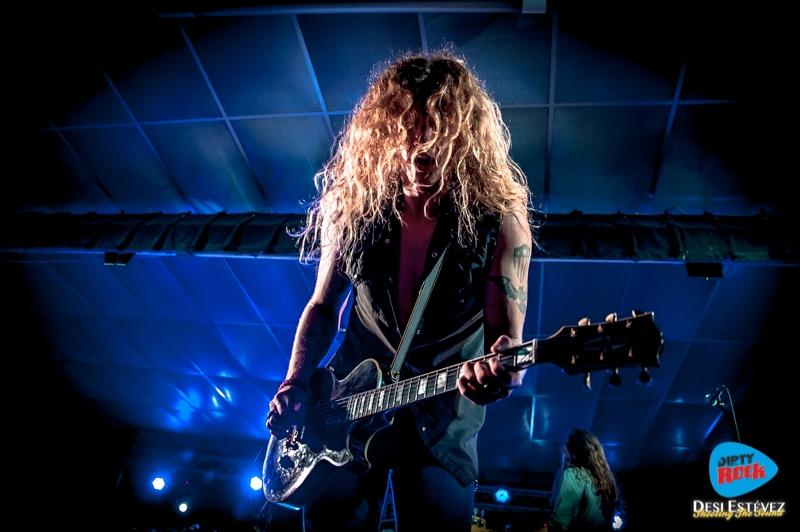 Jared James Nichols en el Calella Rockfest 2015.2