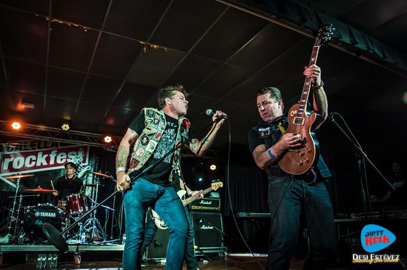 Junkyard en el Calella Rockfest 2015.10