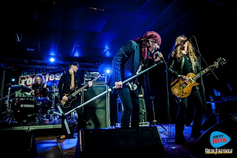 The Quireboys en el Calella Rockfest 2015.2