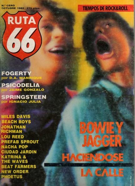Ruta 66 celebra su 30 aniversario con un número extra, número cero 1985