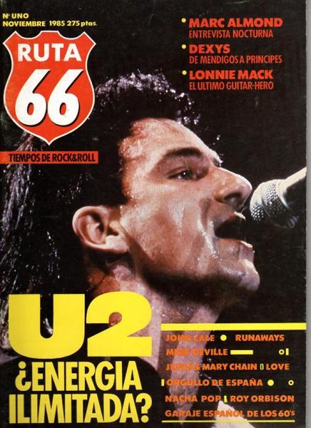 Ruta 66 celebra su 30 aniversario con un número extra, número uno 1985