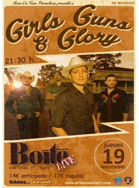 Girls Guns and Glory anuncian gira española para presentar su directo dedicado a Hank Williams