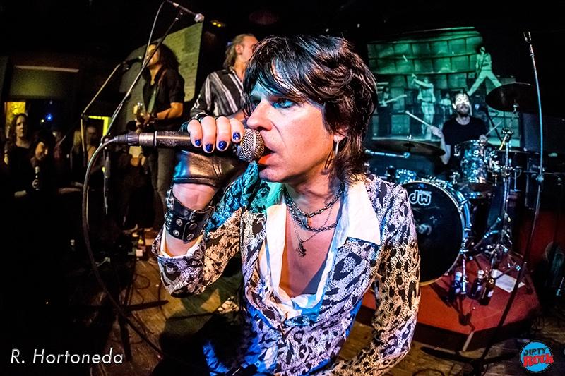 Chaqueteros en concierto Sala Mosntasterio Barcelona 2015.4