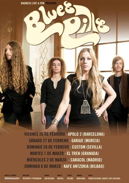 Blues Pills gira española 2016