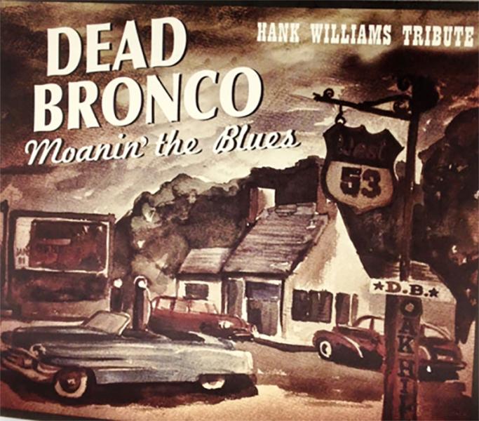Dead Bronco visitan Canarias para presentar Moanin' the Blues en Marzo de 2016