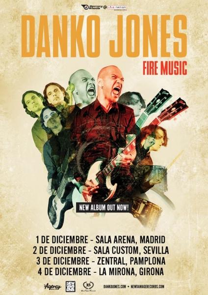 Entrevista a Danko Jones. Fire Music nuevo disco y gira española