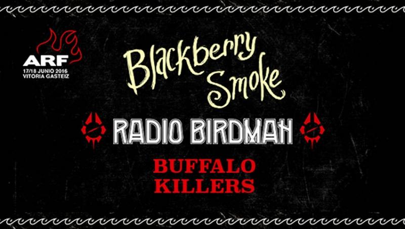Azkena Rock Festival 2016 confirma a Radio Birdman, Blackberry Smoke y Buffalo Killers