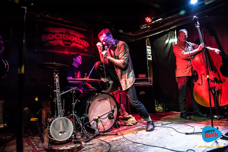 The Legendary Shack Shakers crónica concierto Barcelona.1