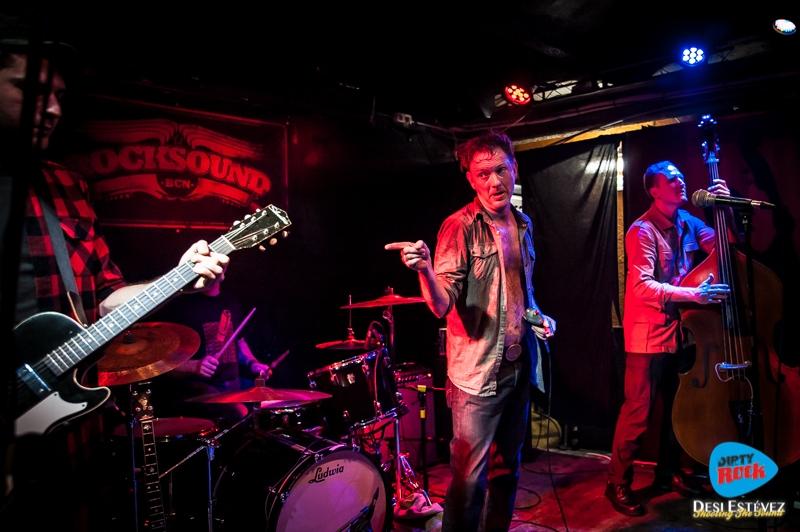 The Legendary Shack Shakers crónica concierto Barcelona.10