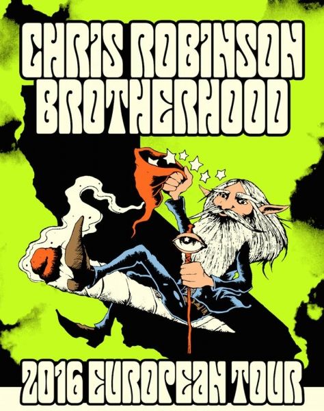 Chris Robinson Brotherhood In Spain next March 2016, Pamplona, Madrid and Barcelona